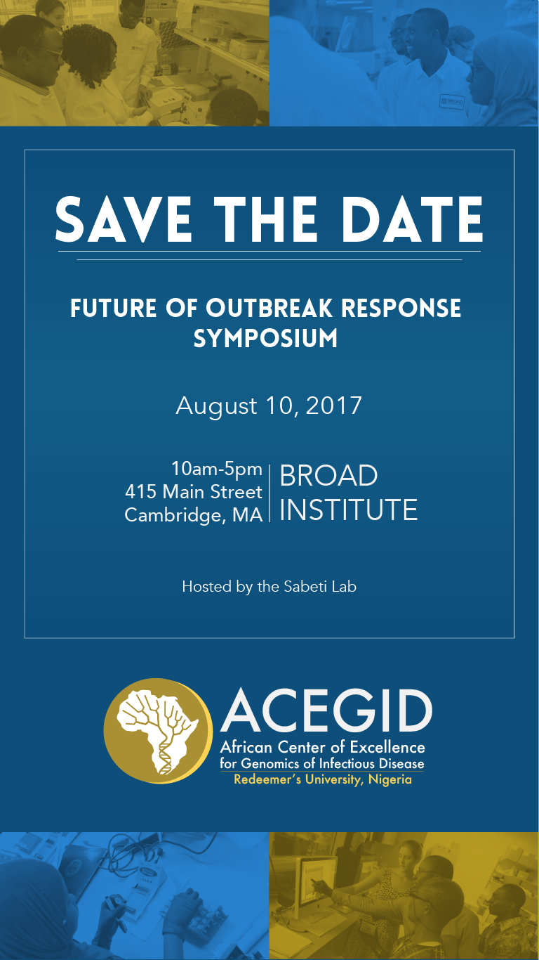 Future of Outbreak Response Symposium
