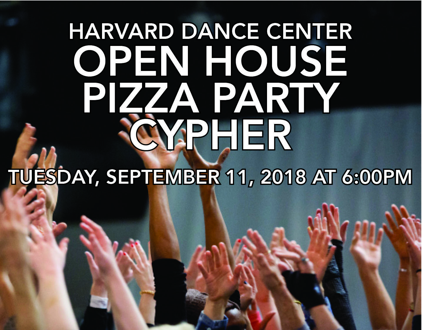 Open House Pizza Party & Cypher