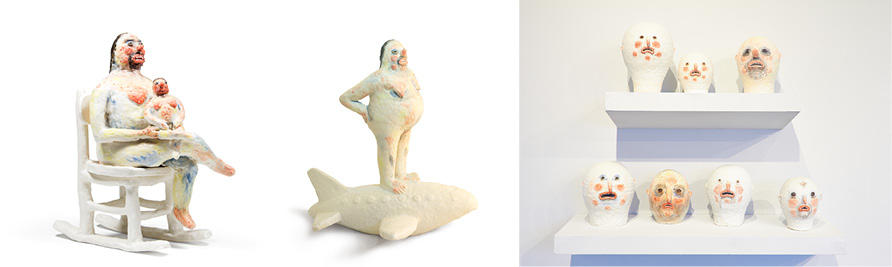 figurative sculptures by Natalia Arbelaez