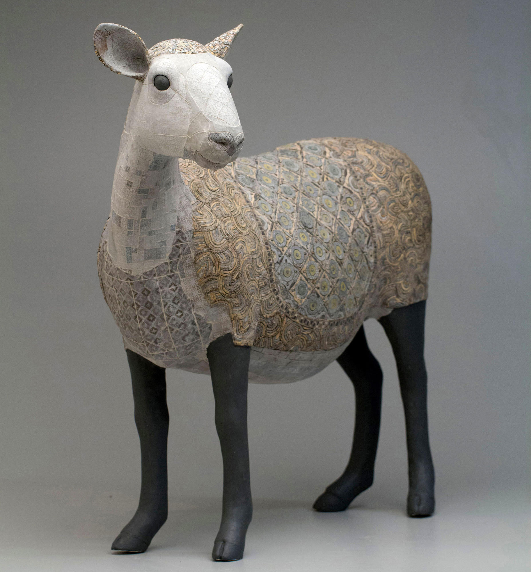 sculpture of a sheep