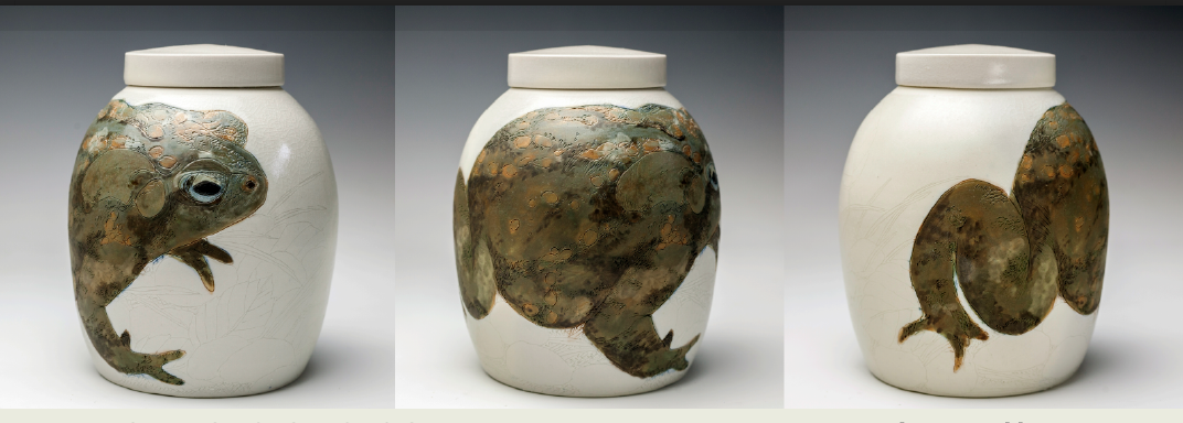 Urn for Toad, Julia Galloway, 2018