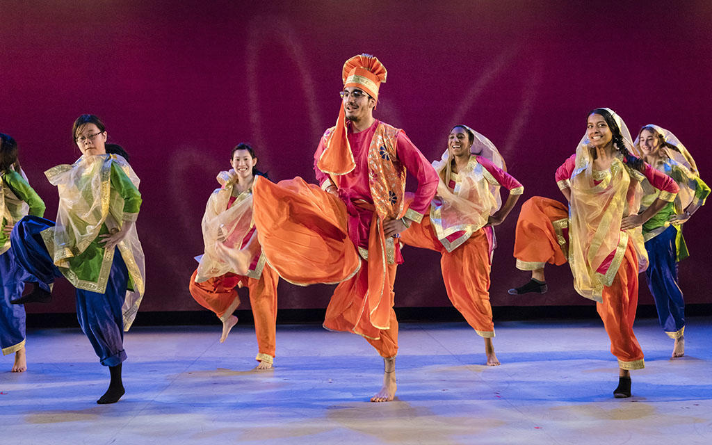 Photo: Harvard Bhangra. Credit: Liza Voll