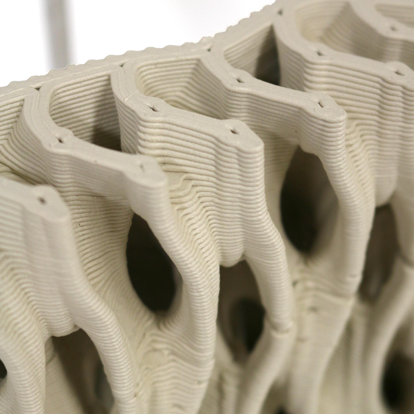 3d printed ceramic form