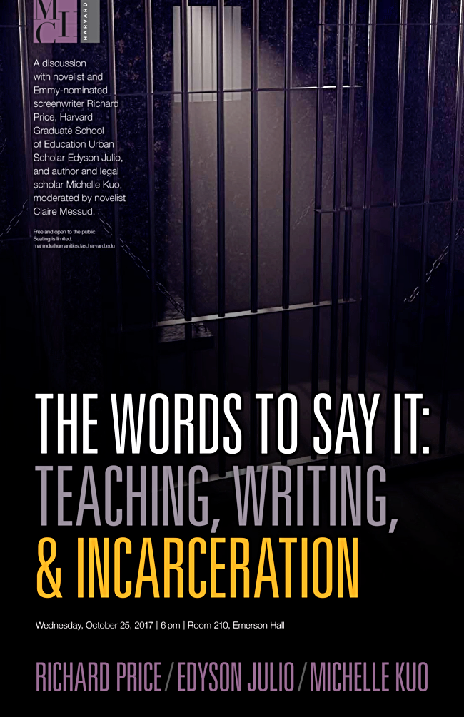 The Words To Say It: Teaching, Writing, and Incarceration