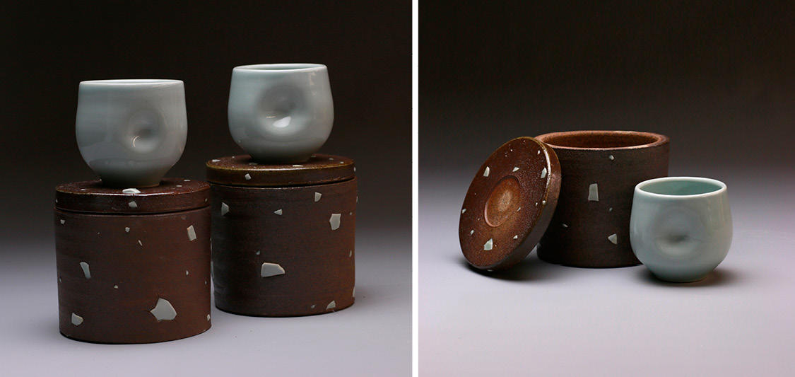 Ceramic work by Mia Riley