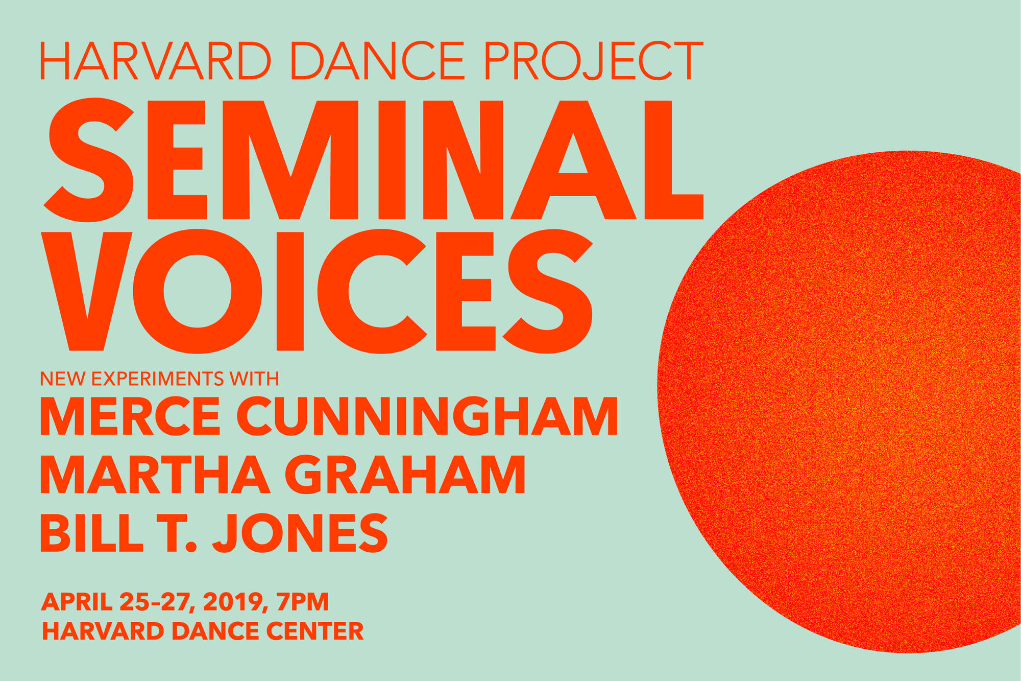 Harvard Dance Project in SEMINAL VOICES - image