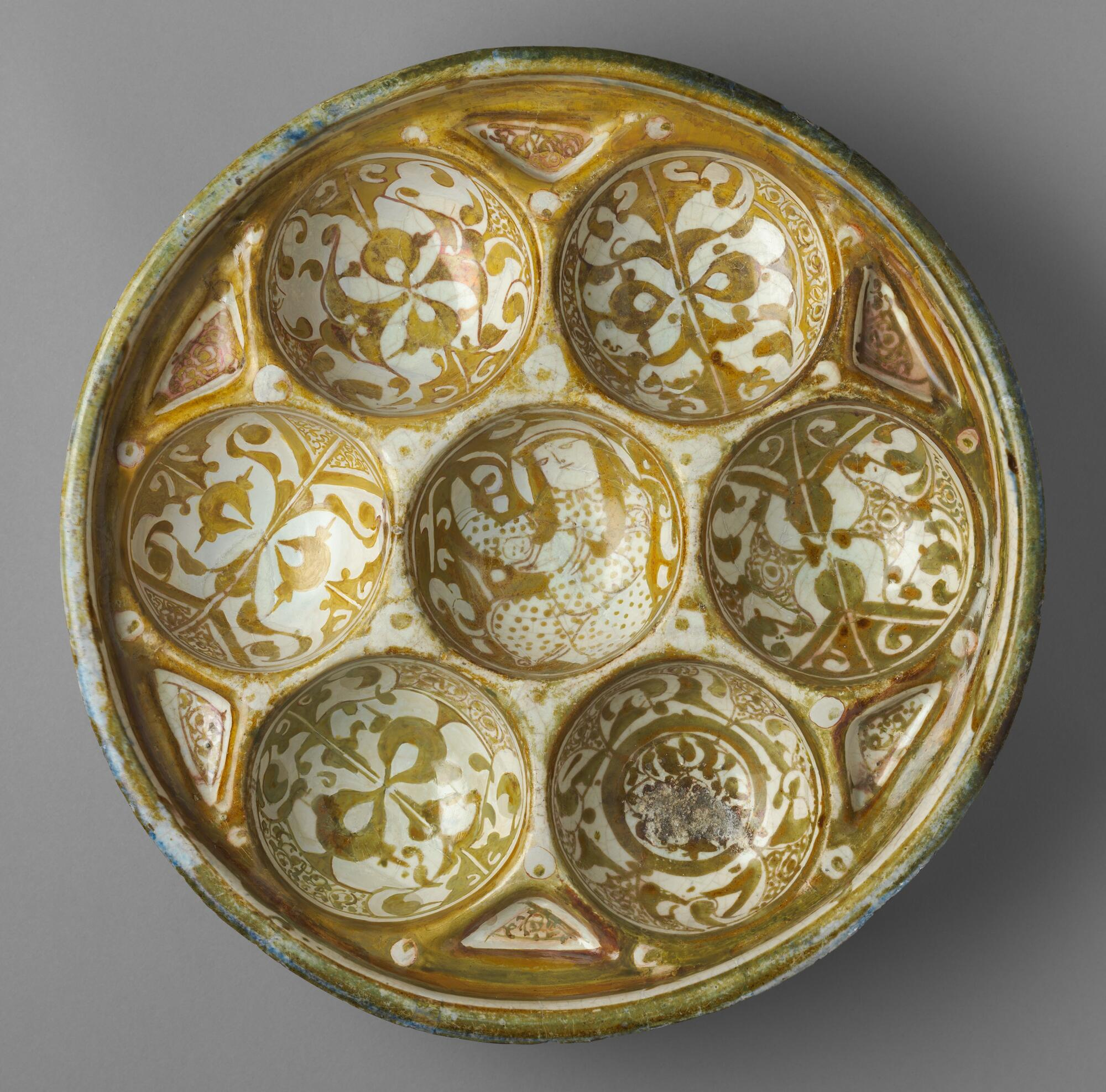 Islamic Sweetmeats Platter Harvard Art Museum