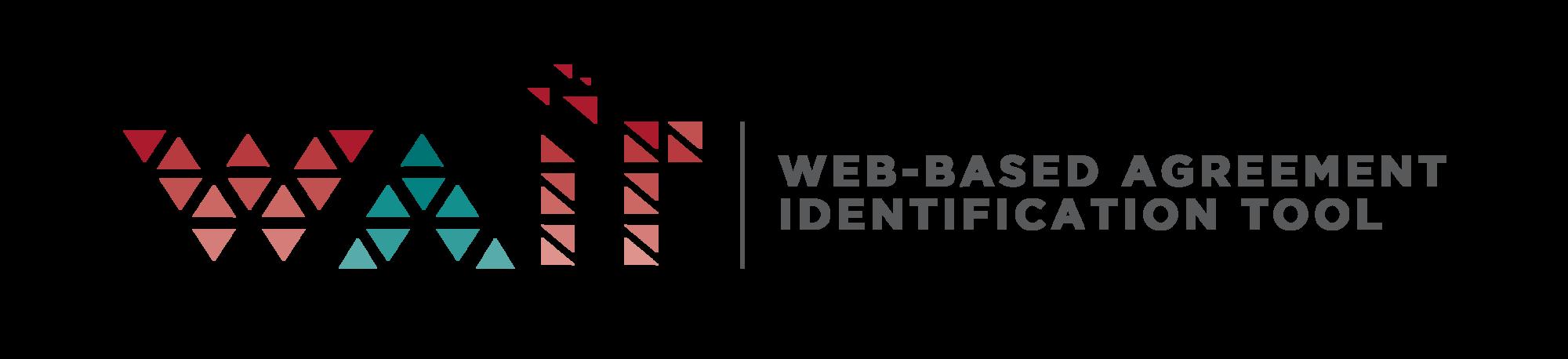 Web-based Agreement Identification Tool.