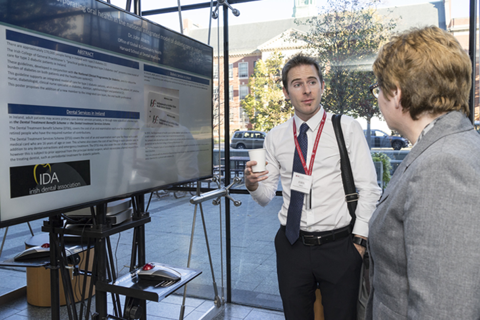 Poster presentation at 2016 Leadership Forum