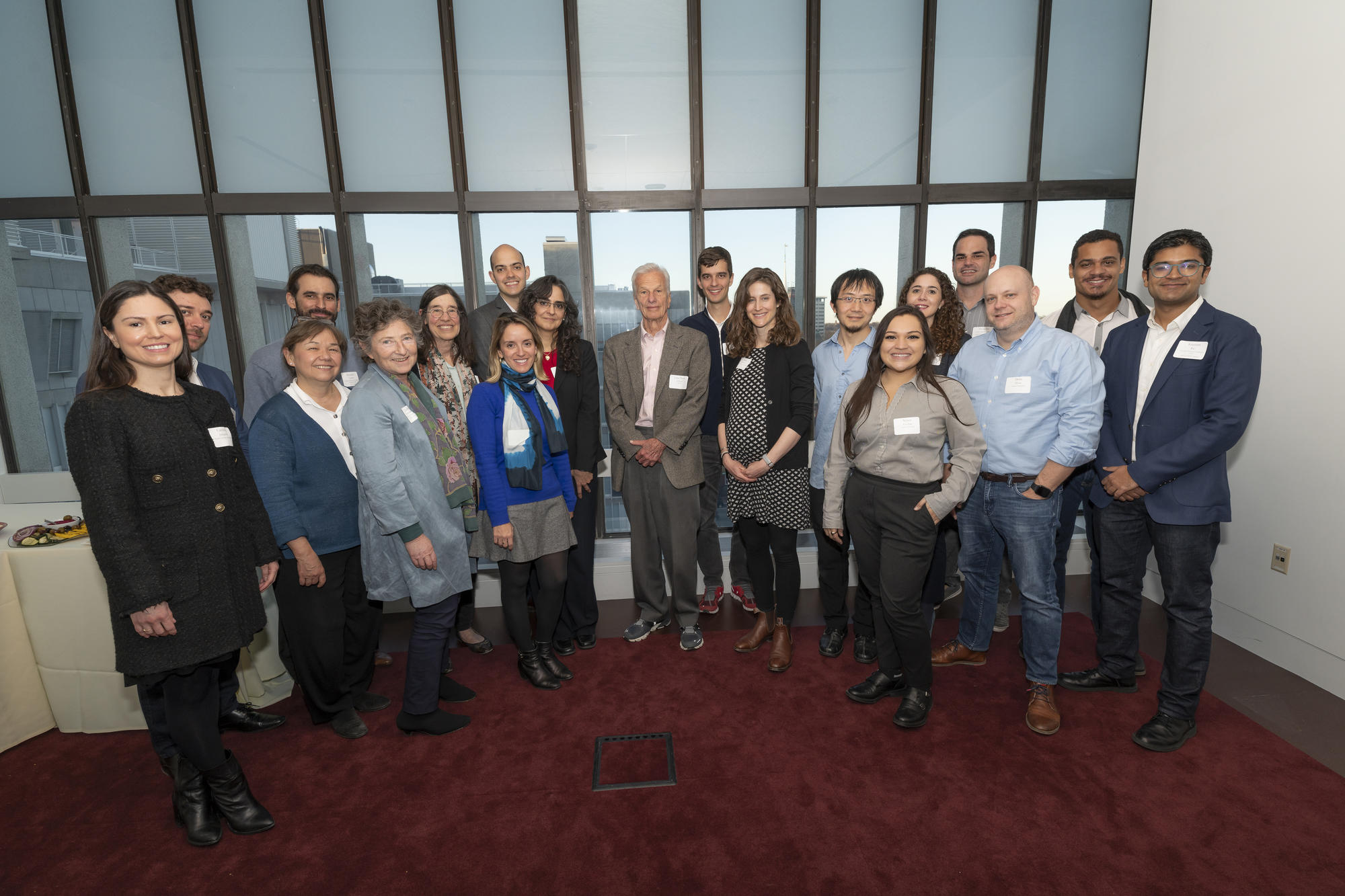 Lemann Brazil Research Fund awardees with Jorge Paulo Lemann, Marc Lemann, and Lemann Foundation leadership and staff