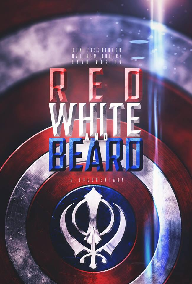 The cover of Red, White, and Beard