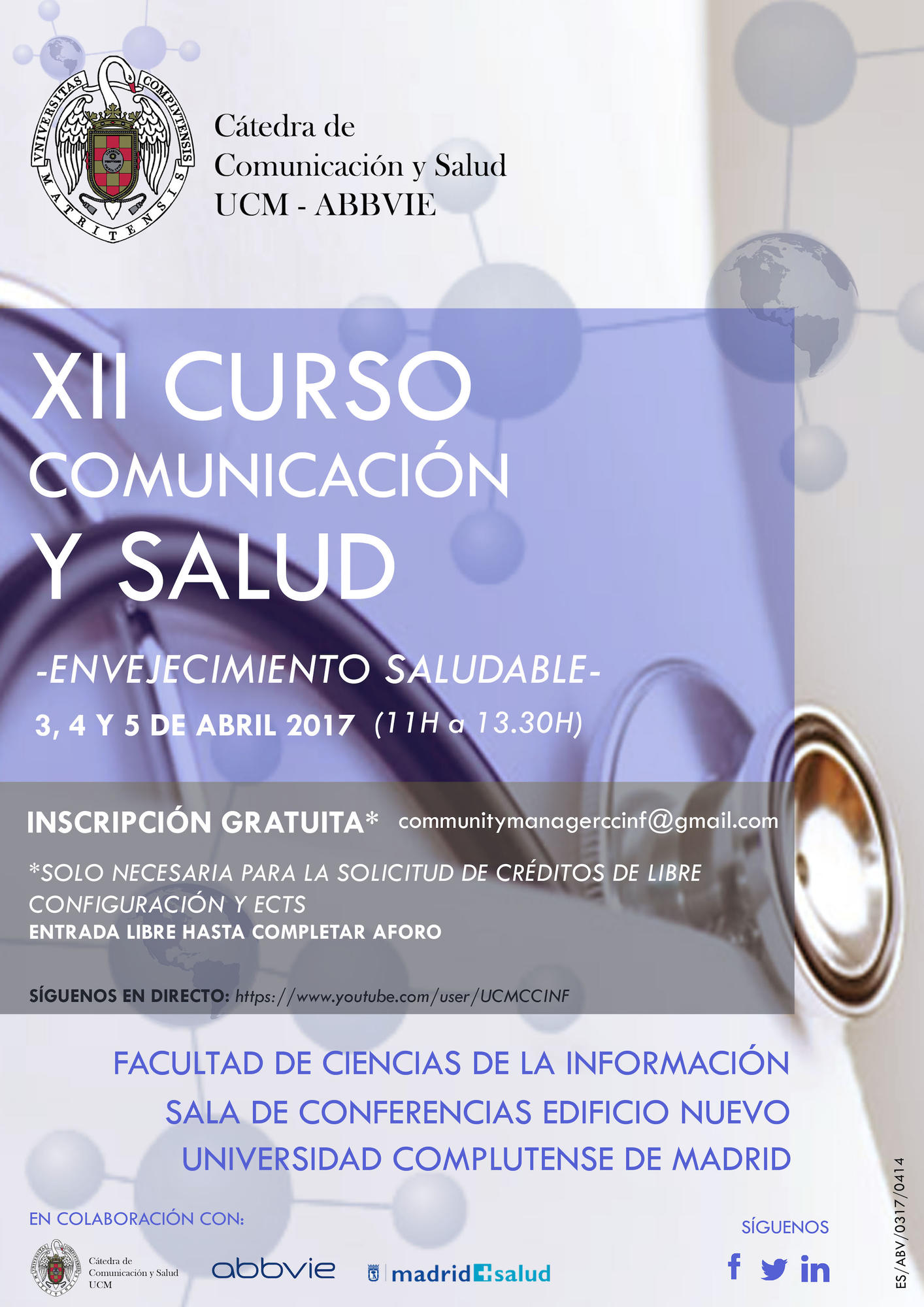 XII Course on Communication and Health