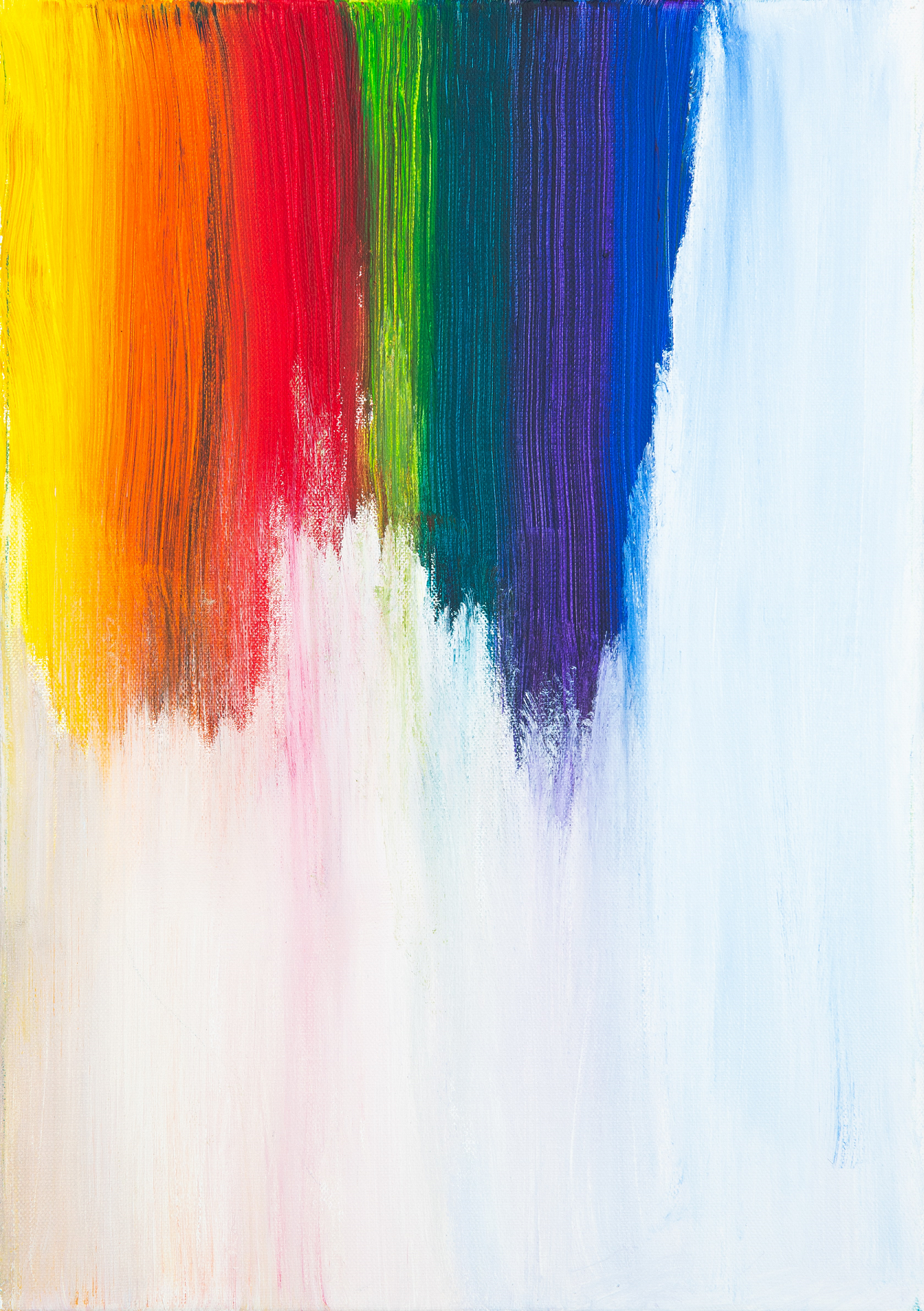 Image of paint colors, rainbow
