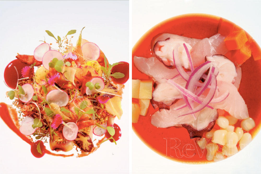 31cfd6d5cc From left to right: A dish from Mercado: