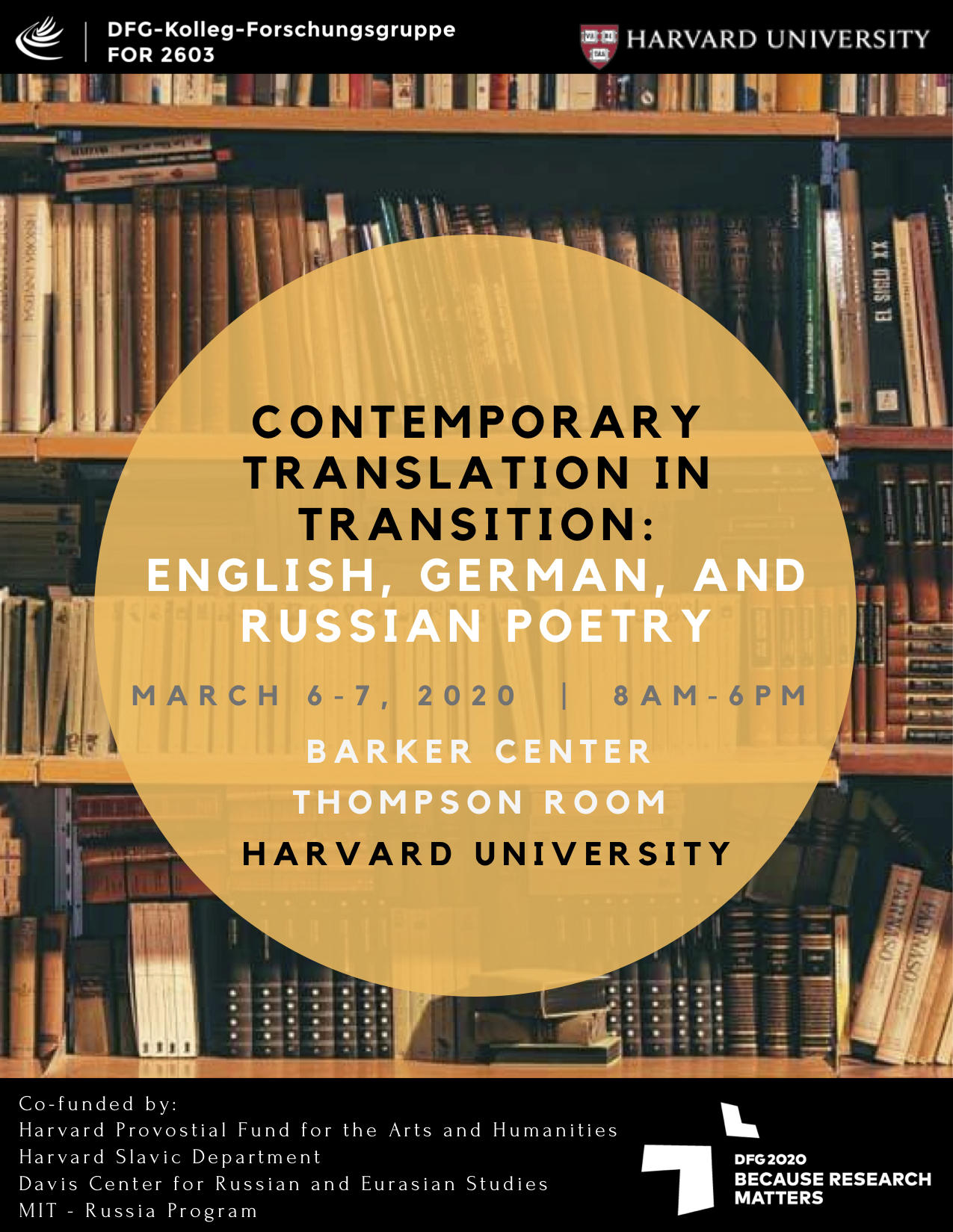 Poetry and Translation Symposium