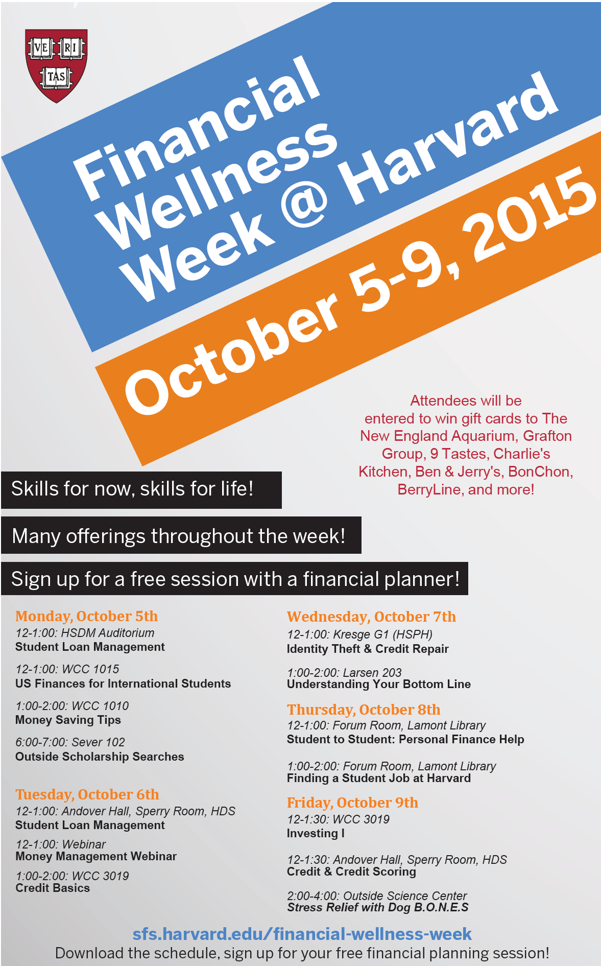 Financial Wellness Week @ Harvard