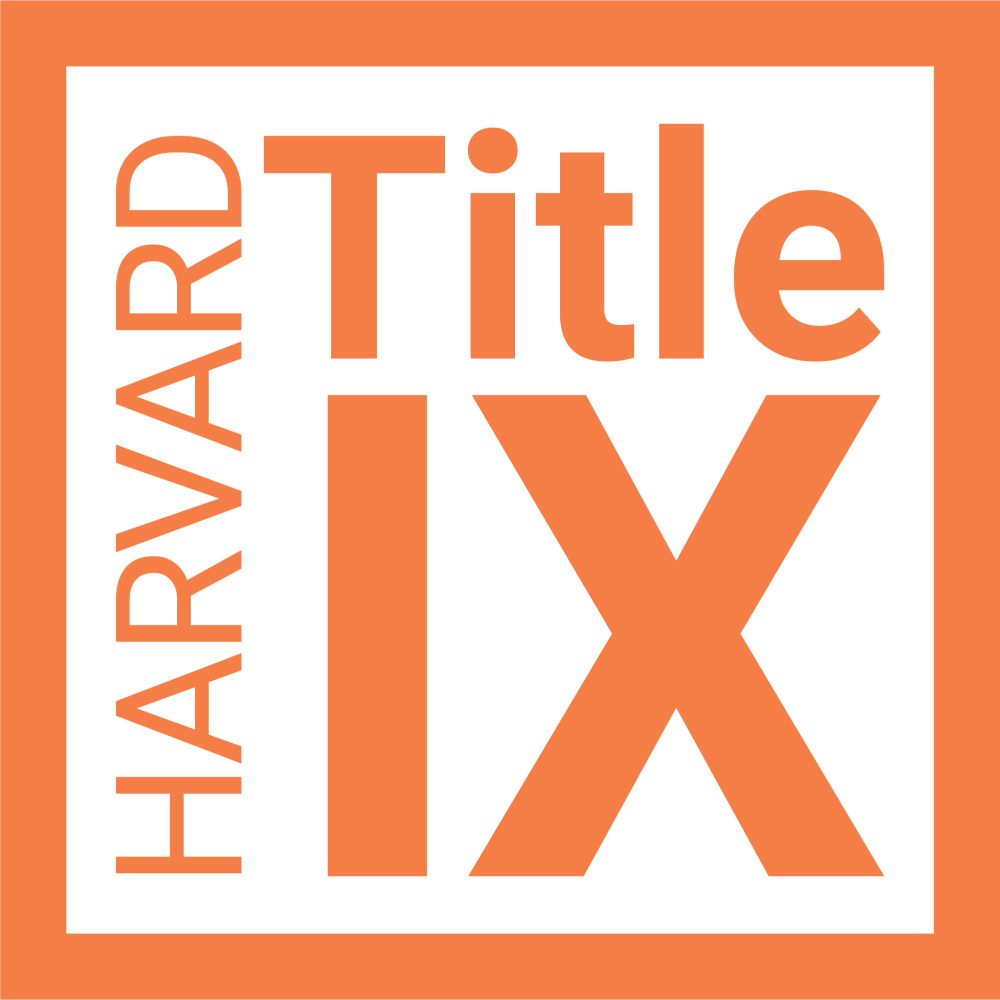 Title IX Office logo orange