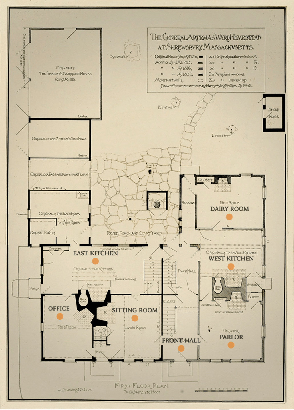 1902 First Floor Plan
