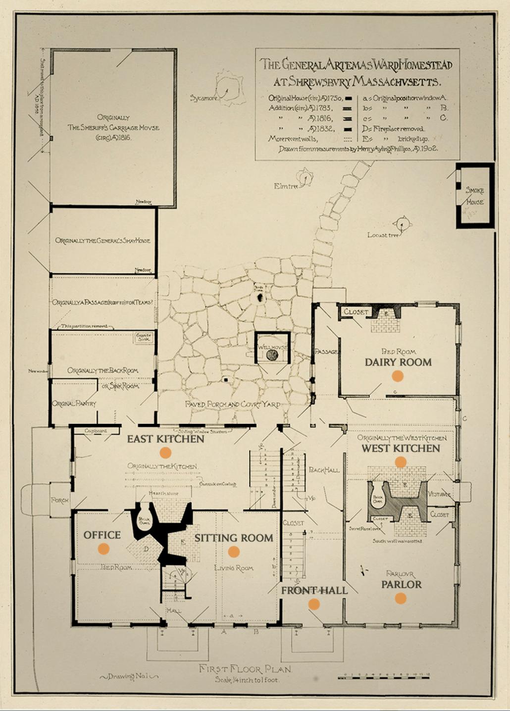Virtual tour ward house for Virtual floor plan