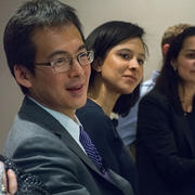 Archon Fung with Technology and Democracy Fellows