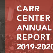Carr Center Annual Report 2019-2020