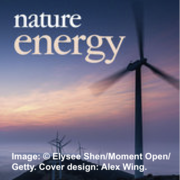 Lu et al. Wind Power Study on the Cover of Nature Energy