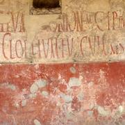 Ancient graffiti in Pompeii, in the style typical for a political campaign. (Mirko Tobias Schäfer / Flickr)