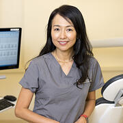 Headshot of Dr. Hiroe Ohyama, assistant professor in the Department of Restorative Dentistry and Biomaterials Sciences