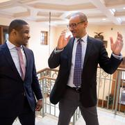 Harvard scholars Tommie Shelby and Brandon Terry in conversation