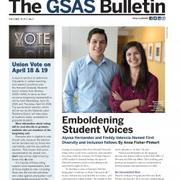Cover of GSAS Bulletin April 2018
