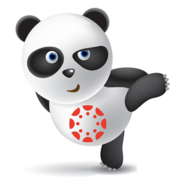 The Canvas Panda, an unofficial mascot of the Canvas Learning Management System