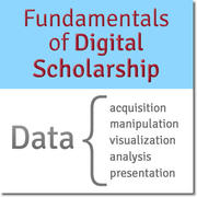 Join the Digital Scholarship Support Group for the Fall 2018 Fundamentals of Digital Scholarship seminar, October 24-25 in Lamont B-30