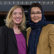 Dr. Sue J. Goldie and Dr. Suraya Dalil Image