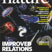Professor Gonzalo Giribet on the cover of Nature