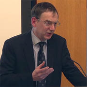 Andrew Pettegree gives lecture on Martin Luther as a media phenomenon