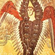 Medieval angel figure