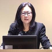 Jin Y. Park delivers the 2014 Ahnkook Lecture on Korean Buddhism