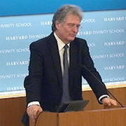 Dr. David Livingstone delivers the 2014–15 Dudleian Lecture