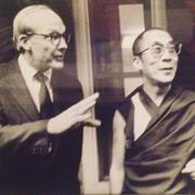 Richard Wheeler with the Dalai Lama