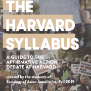 Guide to Affirmative Action Debate at Harvard