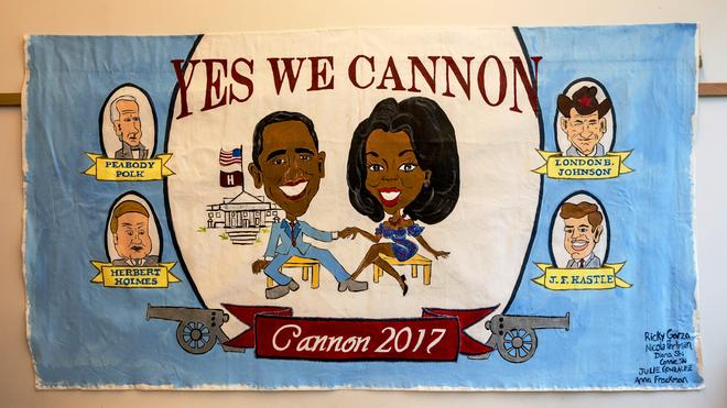 Cannon Society Olympics Banner
