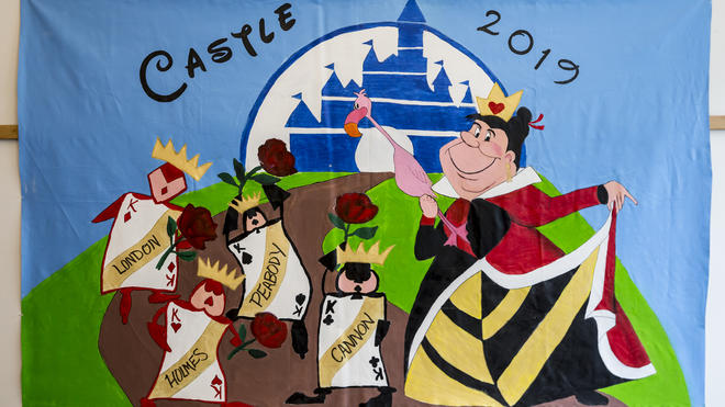 Castle Society Olympics Banner