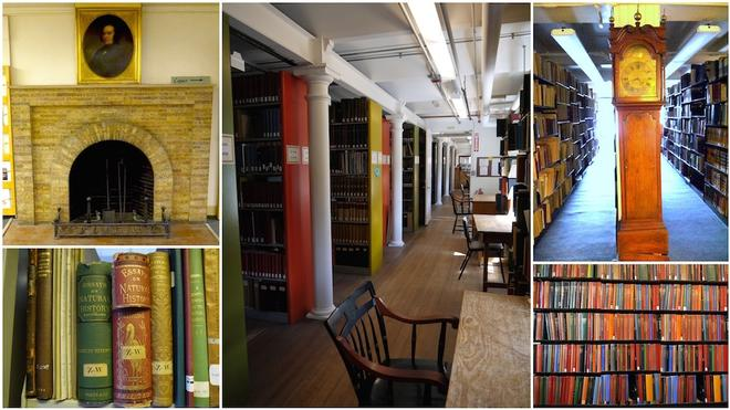The Library is a user-focused environment providing students & faculty a place to work with historical and new materials