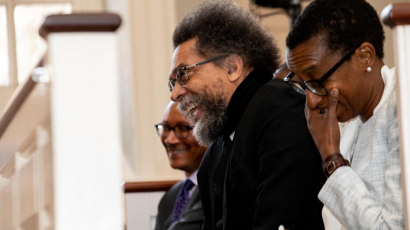 photo_of_claudine_gay_cornel_west_and_tommie_shelby