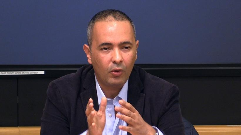 Algerian journalist and author Kamel Daoud
