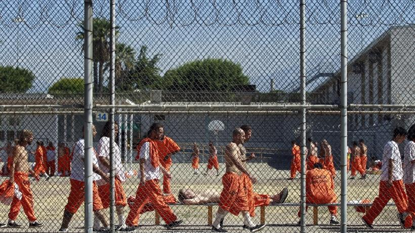 A prison in Chino, California. Photo credit: Reuters
