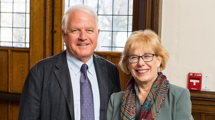 Jim Swartz, AB '64, and Louanne Hempton