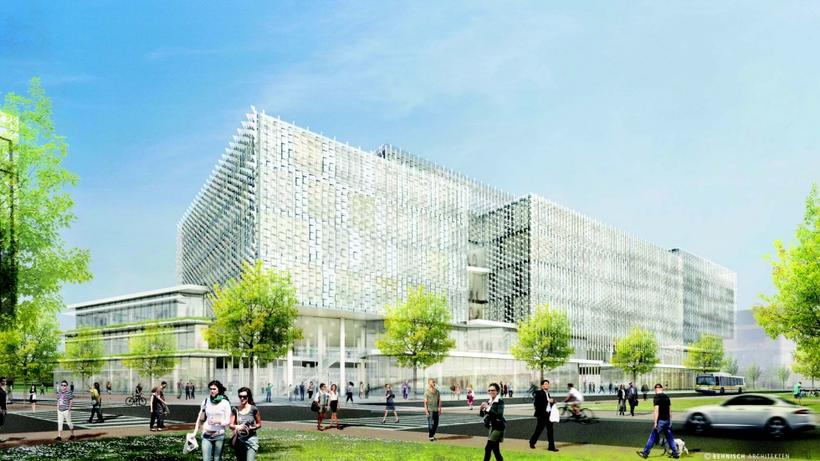 Rendering of new Science complex