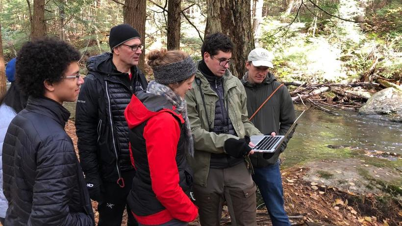 Moorcroft Lab outing to the Harvard Forest