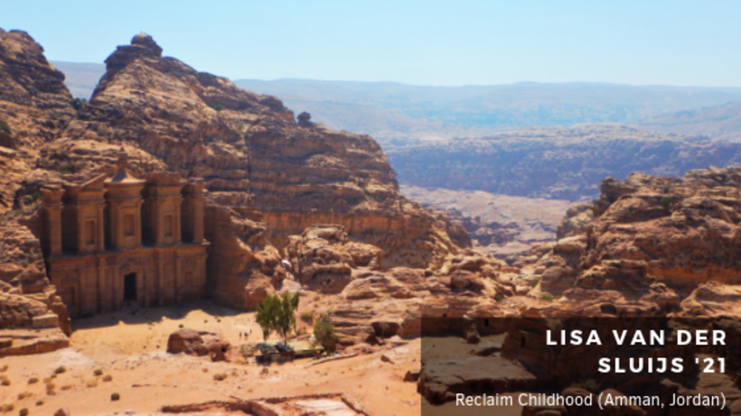 image of Petra, a historical and archaeological city in southern Jordan